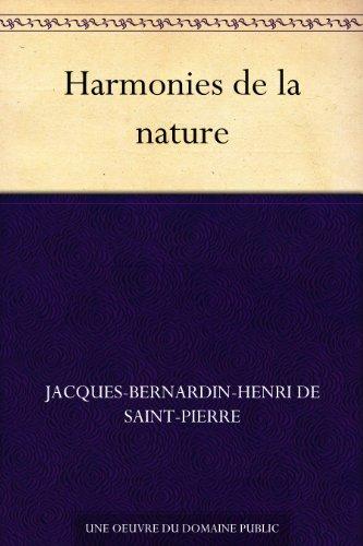 Couverture du livre Harmonies de la nature