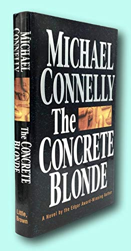 Rare Michael Connelly / THE CONCRETE BLONDE Signed 1st Edition 1994
