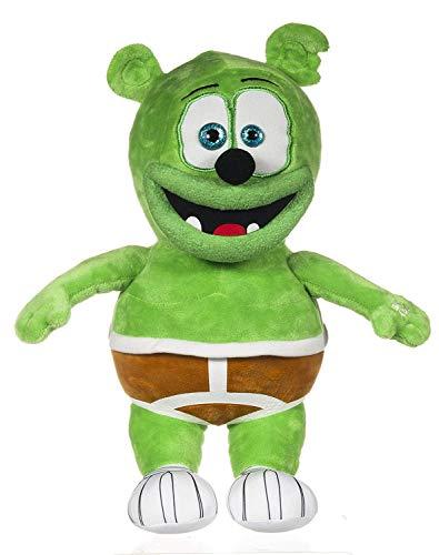 Singing Gummy Bear with Sound 30cm, Green (Gummibar)