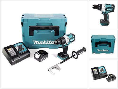 Makita DDF 481rt1j 18V atornillador Brushless 115Nm en Makpac con 1x BL1850. 5,0Ah Batería Y Cargador Dc18Rc