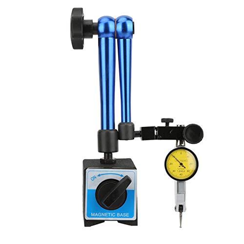 Reloj comparador con base magnética, soporte magnético flexible, soporte de base magnético para el procesamiento mecánico de piezas de trabajo