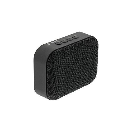 TELLUR Altoparlante Bluetooth Callisto, Radio FM, Chiamate a Mani libere, MicroSD, USB, Nero