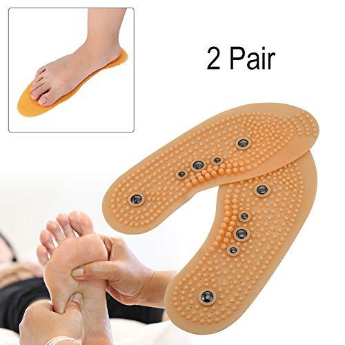 Comfort Del 2 Solette Paia Cuscinetti Piede Sanitaria Di Magnetica MassaggioAssistenza Magnete Massaggio Sottopiede Tamponi Terapia bfv7gY6y