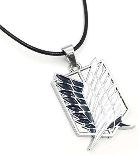 Animation Attack on Titan Necklace Wings of Liberty Pendant Necklace Cosplay Jewelry