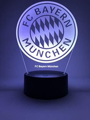 LED Lampe Offizielles Bayern Original Ballzubehör 2020-2021