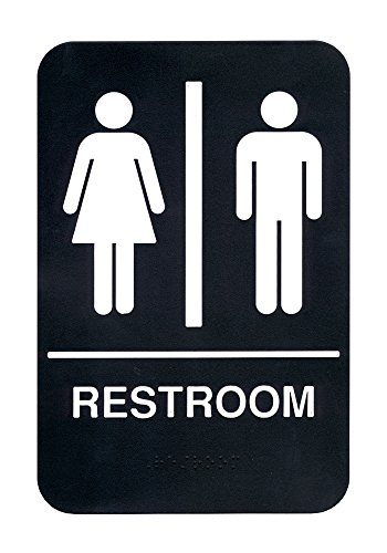 ADA Compliant Braille Restroom Sign