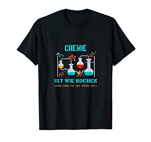 Lustiges Chemie-Design | Reagenzglas | Experiment T-Shirt