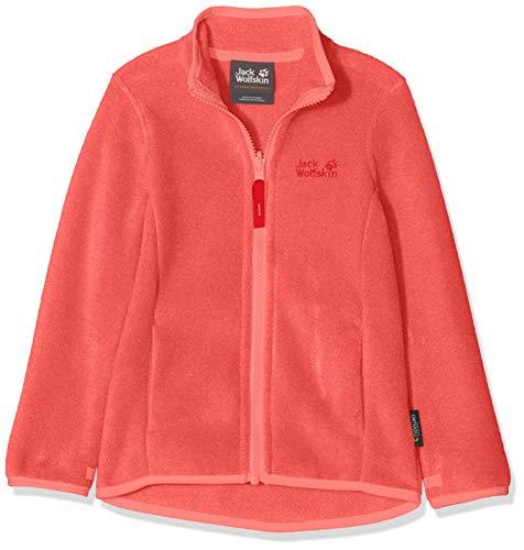 Jack Wolfskin Kinder BAKSMALLA Jacket Kids Fleecejacke, Coral pink, 104