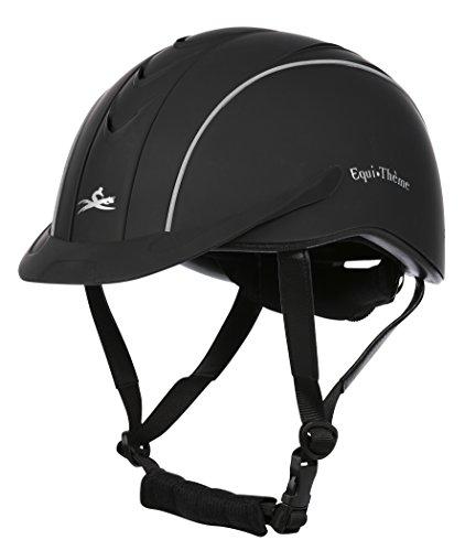 Equi-Theme/Equit'M 911420023 Compet Helm, Schwarz, Medium/52-56 cm