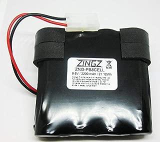 ZNG-PB8CELL Battery 9.6 3AH NIMH Vacuum Pool Blaster MAX CG Water TECH