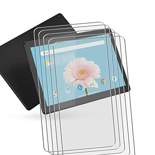 JIENI Protector Pantalla para Samsung Galaxy Tab A7 Lite SM-T225 (8.0'),[5 Pack] Dual Protector de Pantalla en Cristal Templado para Samsung Galaxy Tab A7 Lite SM-T225 - Dureza 9H - Alta Definicion.