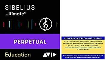 Sibelius Ultimate Music Notation Software for Students and Teachers  Download Card
