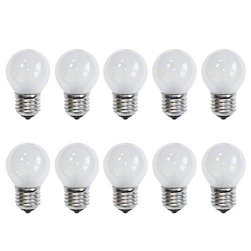 10 x Glühbirne Tropfen 25W E27 MATT Glühlampe Glühbirnen Glühlampen 2700k warmweiß DIMMBAR (25 Watt)