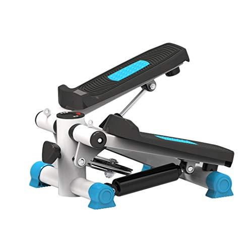 LAZYZ Up-Down Stepper, Paso A Paso Rutina De Ejercicio Perder Peso Aptitud Ergonomía Entrenador Casero Unisexo Profesional Tranquilo Pedal (Color : Azul, tamaño : A)
