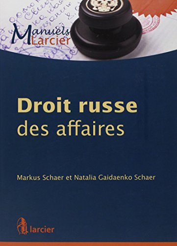 Droit russe des affaires PDF Books