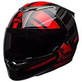 BELL Cascos RS2, rojo táctico/negro/titanio, mediano