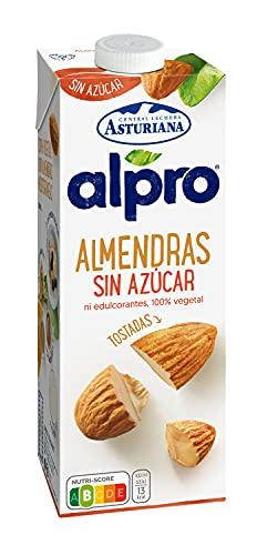 Alpro Central Lechera Asturiana leche almendras sin azúcar envase 1 lt