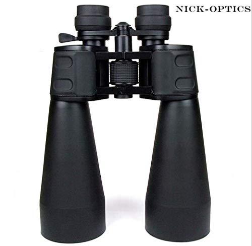 Knoijijuo Super Zoom Prismáticos, 20-180X100 telescopio Profesional HD, High Times Binocular Vison Long Range Hunting la búsqueda de la Estrella