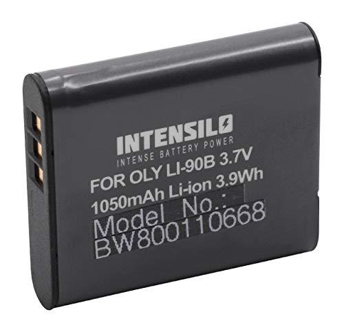 INTENSILO Li-Ion Batteria 1050mAh (3.7V) per Fotocamera Camcorder Video Olympus Tough TG-Tracker come Li-90B, Li-92B.