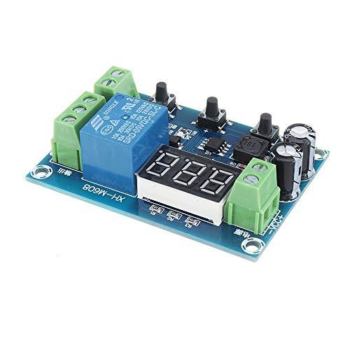 QinMei Zhou DC6-40V batería carga módulo de descarga integrado voltímetro subvoltaje y sobretensión protección sincronización carga y descarga