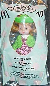 Madame Alexander Doll - Lady Bug Girl - McDonald's 2003 #10 by Madame Alexander