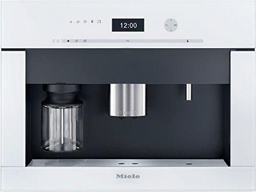 Miele 9521960 CVA6401 Brillantmit Bohnenmahlwerk / Einbau-Kaffeevollautomat, weiß
