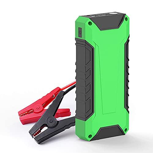 600A 10000mAh Car Jump Starter Batería emergencia Booster Herramienta eléctrica portátil para exteriores 5.0L Gasolina 3.0L Motor diesel Cargadores inteligentes USB 12V Cargador linterna LED