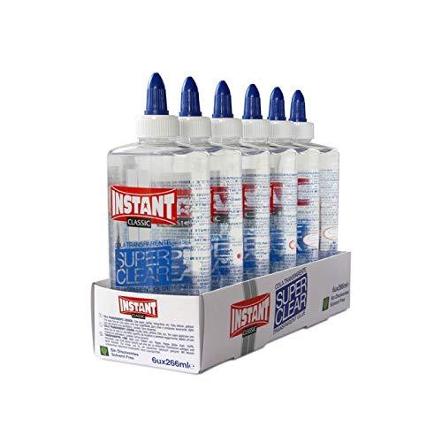 Instant – Pegamento líquido transparente – Superclear 266 ml, 1 unidad