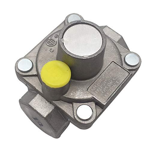 MENSI Regulador NPT de 3/8 pulgadas para gas NG NPT, regulador de baja presión de gas natural, rango de columna de agua de 3 a 5 pulgadas