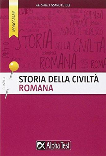 Storia della civiltà romana
