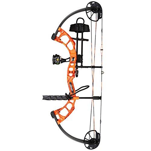 Bear Archery Cruzer Compound Bow RTH AP Blaze Orange RH 15-70lb A5CZ21037R