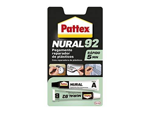 Henkel - Adhesivo Translucido Para Plastico 22Ml Nural-92 1671587