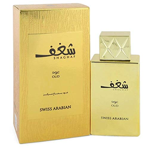 Shaghaf Oud by Swiss Arabian Eau De Parfum Spray 2.5 oz / 75 ml (Women)