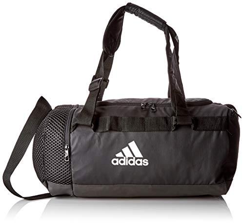 adidas TR CVRT DUF S - Zaini Unisex Adulto, Nero (Negro/Negro/Blanco), 24x15x45 cm (W x H L)