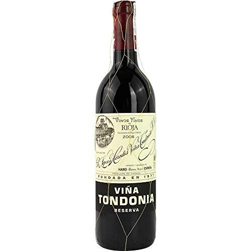 Vina Tondonia Reserva tinto 2008 Rioja Reserva DO Rotwein trocken Lopez de Heredia Vina Tondonia Spanien 750ml-Fl (39,74€/L)