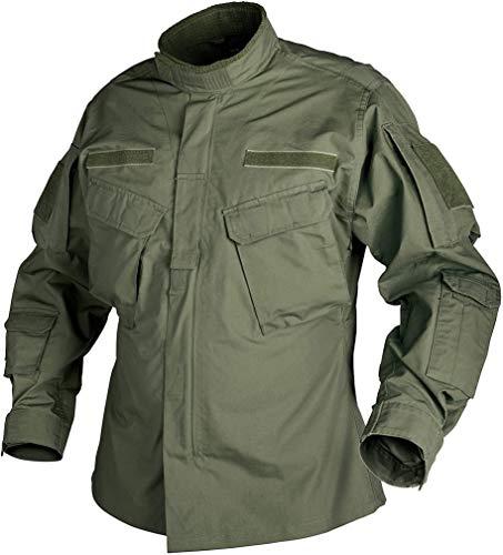 Helikon-Tex Boys CPU Jacke Shirt-Polycotton Ripstop-Olive Green, grün, L