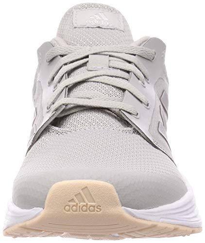 Adidas Galaxy 5, Zapatillas de Correr Mujer, Gris (Grey/Glory Grey/Pink Tint), 39 1/3 EU