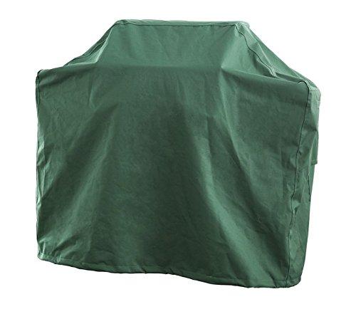 Gasgrill Grill Abdeckung Abdeckhaube Schutzhülle BBQ, Luxus Edition, Gr. M Square (152,5 x 57 x 119 x 112 cm, Skizze A-B-C-D), Farbe royal grün, 100% Polyester PU beschichtet, A7