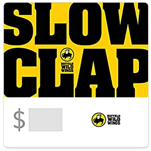 Buffalo Wild Wings Slow Clap Gift Cards - Email Delivery