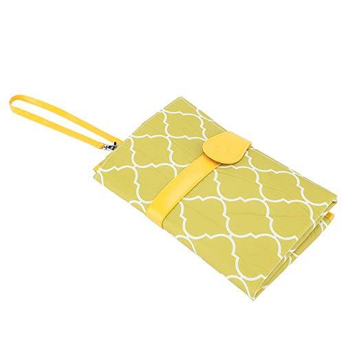 Baby draagbare luier aankleedkussenhoes Reistafel Opvouwbare luiertas Heet voor thuisreizen en buiten(Groen)