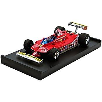 Modellino Auto Ferrari 126C2 GP Italia Monza 1982 Pilota #28 Scala 1:43 2005 R288CH