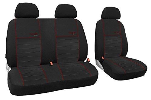 Trend LINE BUSBEZÜGE 1+2 passend für Mercedes VITO 639 zum Sonderpreis!!! In diesem Angebot DUNKELROT (In 6 Farben bei Anderen Angeboten erhältlich)