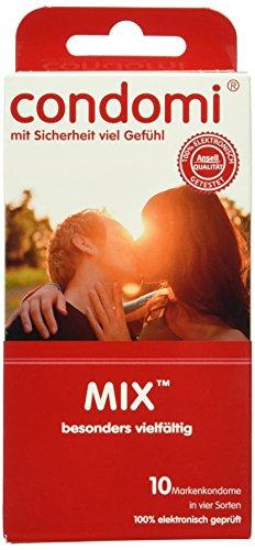 Condomi Mix Kondome, 1er Pack (1 x 10 Stück)