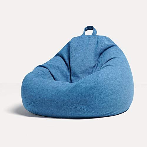 Plhgf Lazy Sofa Bean Bag EPP può Sedersi E Reclinare Tessuto Singolo Piccolo Tatami Soggiorno Camera da Letto Balcone Divano Sedile Tatami Divano in Tessuto Esclusivo 100 * 120 CM Grigio Grigio