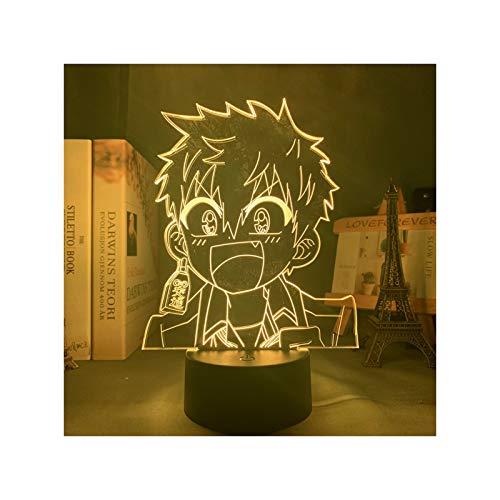Anime 3D Licht Lampe Manga Toilette Gebunden Hanako Kun Minamoto Kou Led Nachtlicht Für Schlafzimmer Dekor Bunte Nachtlicht Geschenk