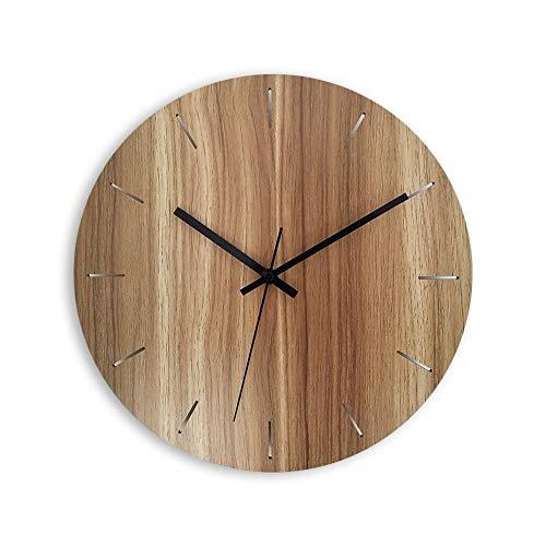 XMBT Relojes de Moda,tictac Reloj de Pared de Cuarzo Reloj de Cocina de Pared Reloj Elegante francés lamentable Reloj de Pared preciso Inicio Funciona con Pilas Tiempo