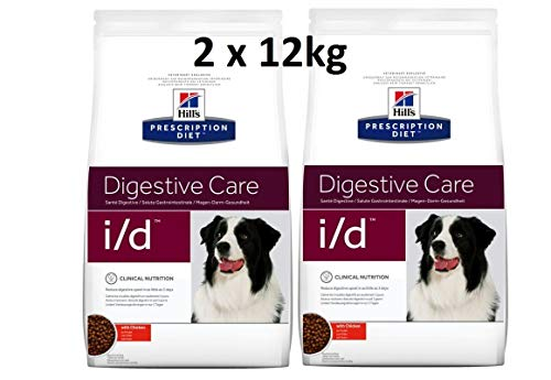 Hills Prescription Diet i/d: 2 x 12 kg Digestive Care comida para perros con pollo
