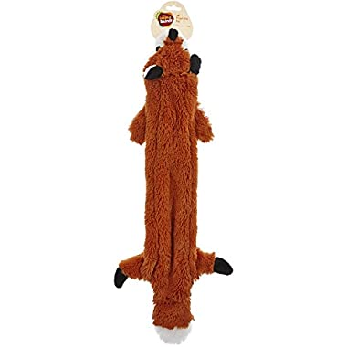 Leaps & Bounds Large Wildlife Unstuffed Red Fox Toy for Dogs