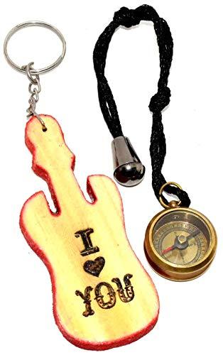 Nautical.Gift.Decor Boussole Vintage en Laiton