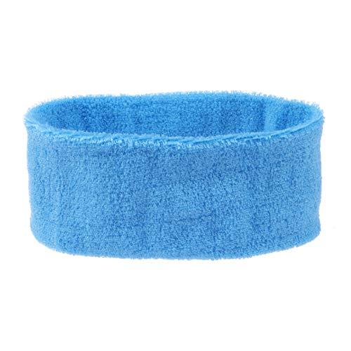 Garneck Sport Hoofdbanden Wasbaar Sweat Absorb Sport Make Up Hoofdbanden Handdoek Wikkel Kostuum benodigdheden voor Vrouwen (Sky Blue)
